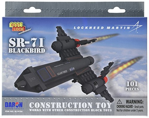 Daron SR-71 Best Lock Construction Toy (105 Piece)