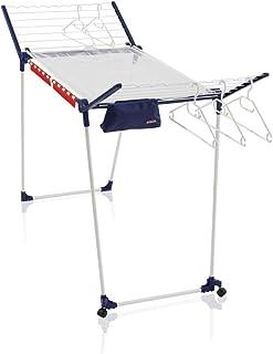 comprar comparacion Leifheit Tendedero con alas Pegasus 200 Solid Deluxe Mobile, tendedero de ropa plegable con equipamiento completo, tendede...