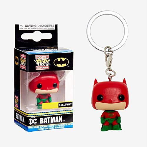 Pop! DC - Keychain Batman Holiday (Special Edition)