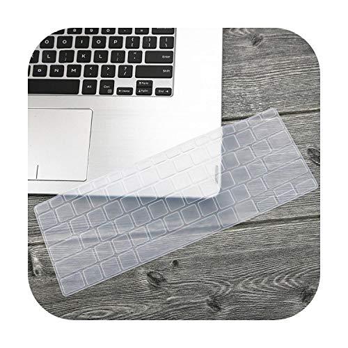 Funda de protección para teclado de ordenador portátil Clear-Clear de 14 pulgadas para Asus Zenbook 14 Ux433 Ux433Fn Ux433Fa8265 2019