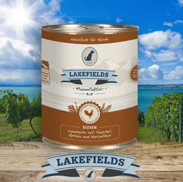 Lakefields Dosenfleisch-Menü Huhn 800g (6 x 800g)