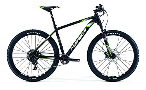 Merida Big.Nine Team Issue 29 inch mountainbike zwart (2016), 47