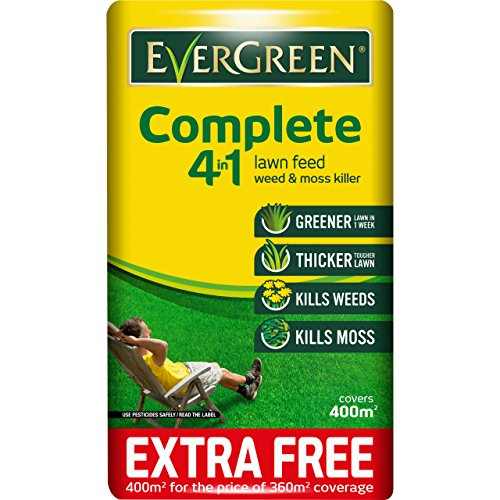 EverGreen Complete 4 In 1 Lawn Care Bag + 10 Percent Free...