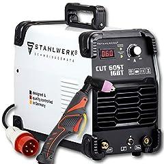 ACIÉRIE CUT 60 ST IGBT Coupe-plasma de 60 ampères, jusqu'à 24mm, pour tôles vernies et grille volante, garantie fabricant de 7 ans