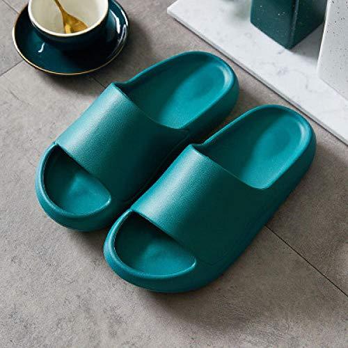 B&H-ERX Zapatillas de baño Simples de EVA para Mujer, Zapatos de Verano...