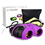 DMbaby Girls Toys for 3-12 Year Old, Childrens Binoculars for Outdoor Travel Hunting