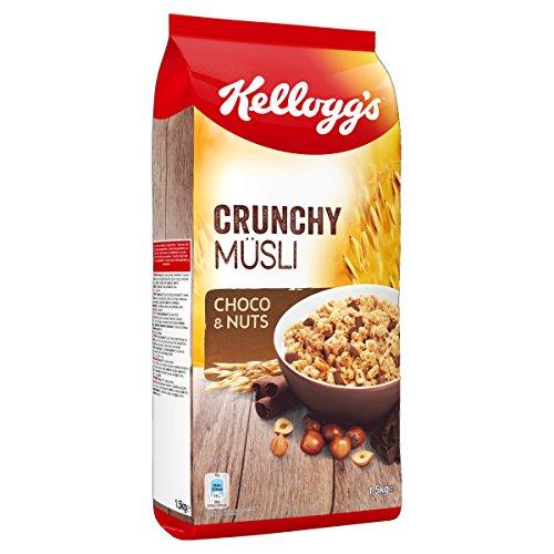 Kellogg's Crunchy Müsli Choco und Nuts, 1.5 kg