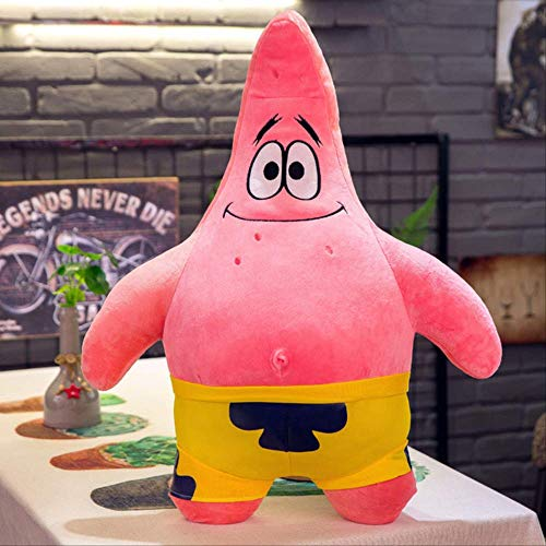 pluche dieren speelgoed,Giant Sponge Bob Patrick Star Pluche Doll Toys Kawaii Sponge Bob Knuffels Kussen Doll Children Kids Christmas Birthday Gifts 50CM Patrick ster