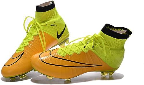 Demonry Demonry Demonry Chaussures de Football Mercurial Superfly FG Bottes de Football Jaune e56