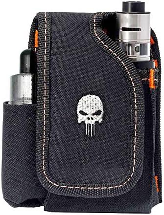 Vape Mod Carrying Bag, Vapor Case For Box Mod, Tank, E-juice, Battery – Best Vape Portable Travel to Keep Your Vape Accessories Organized [CASE ONLY]