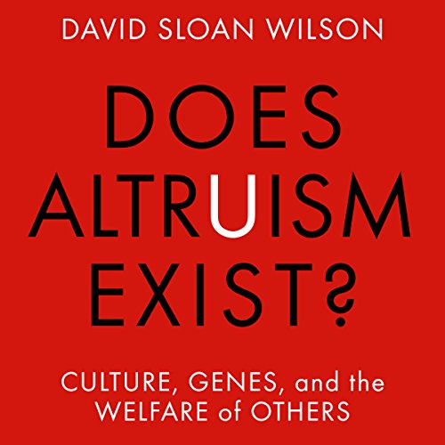 Does Altruism Exist? audiobook cover art