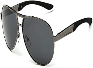FRGTHYJ - FRGTHYJ piloto Polarizado Hombres Hombres Gafas de Sol Hombres Conducción Gafas de Sol Hombre piloto Gafas de Sol para Hombres Marca Moda Retro Recubrimiento S