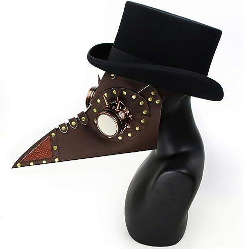 marca famosa Steampunk Gótico Gótico Gótico Retro Plaga Pico Médico Pájaro Máscara Halloween Navidad Traje Atrezzo  presentando toda la última moda de la calle