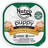 Nutro Cuts in Gravy Grain Free Wet Dog Food Adult & Puppy, 3.5 oz Trays, 24...