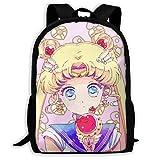 KDRW Mochila Mochila de Ocio Bolsa de Viaje Bolsa de Ordenador Bolsa de Escuela Casual Backpack- Stylish Tokyo Ghoul Print Zipper School Bag Travel Daypack Backpack