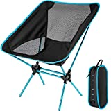Camping Chair with Lightweight Carry Folding Bag, Ultralight Folding Camping Chair for Picnic Outdoor Hiking