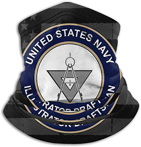 Alive Inc US Navy Explosive Ordnance Entsorgung EOD Unisex Fleece Neck Warmer Gesichtsschutz Warmer Neck Tube Neck Scarf Neck Gamaschen
