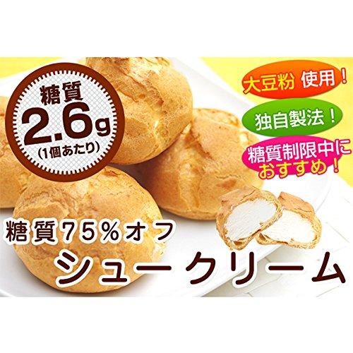 リボン食品『糖質75%オフシュークリーム』