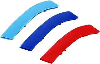 Maiqiken 3D Coche Rejillas Frontales Cover Hebilla para 3 Serie E92 E93 318i 320i 325i 328i 330i 335i 320d 325d 2006-2009(14 Rejillas un Lado) ABS 3 Colores