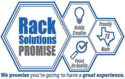 RackSolutions 4U 2Post Conversion Kit Server Rack Depth Extender