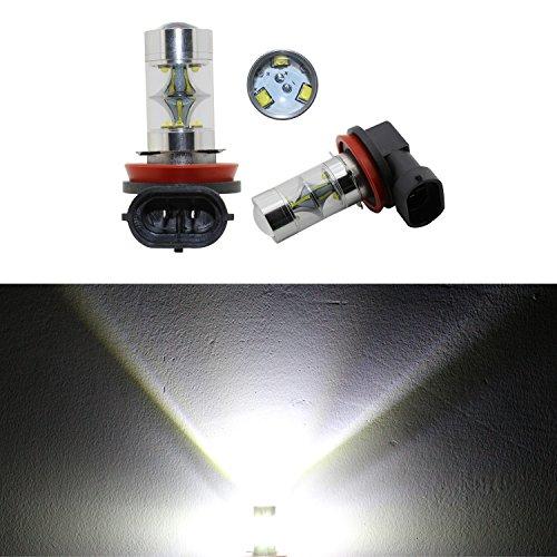2 x H11 45 W Haute Puissance CREE 9 LED de voiture lampe LED brouillard Jour DRL ampoules