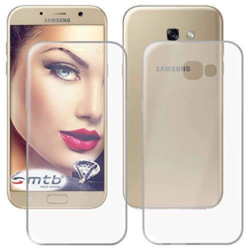 mtb more energy® Funda TPU Doble (Frente y Trasera) para Samsung Galaxy...