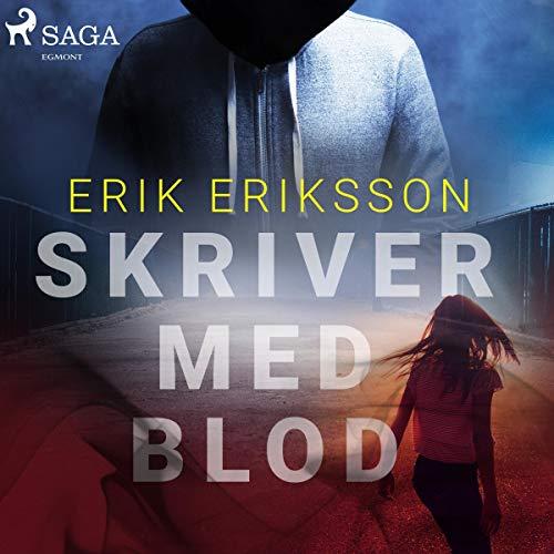 Skriver med blod audiobook cover art