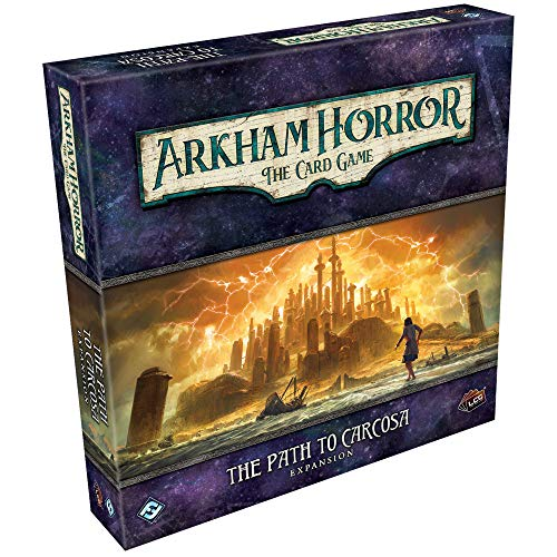 Arkham Horror The Card Game Path to Carcosa Deluxe EXPANSION   Horror Game   Mystery Game  ...