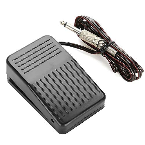 Tattoo Foot Pedal, SOTICA Tattoo Power Supply Foot Pedal Switch Pedal Control with Clip Cord for Tattoo Machine Tattoo Kit Tattoo Supply