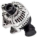 LZZJ Alternadores 12317501599 generadores alternadores 6 Costillas para BMW 320I 2.2 (E46) M54 2171CCM 2000-2005