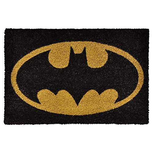 Pyramid International Felpudo DC Originals Batman Logo Colour, Multicolor, 60x40