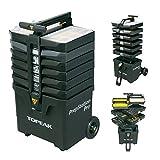 TOPEAK Unisex-Adult PrepStation Pro (inkl. 55 Werkzeugen) Werkzeugbox, Black, One Size