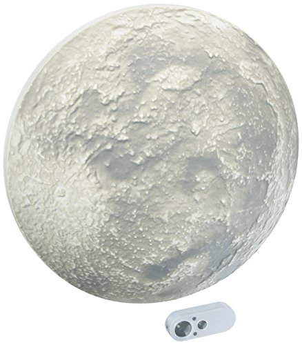 Uncle Milton Super Moon In My Room - Deluxe Light-up Moon Night Light - STEM Learning Toy