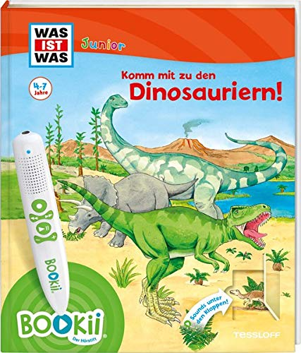 BOOKii® WAS IST WAS Junior Komm mit zu den Dinosauriern! (BOOKii / Antippen, Spielen, Lernen)