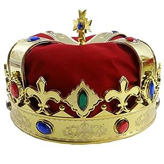 شراء Funny Party Hats Royal Jeweled King's Crown - Costume Accessory