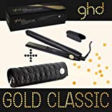 Ghd - Fer A Lisser Styler Gold Plaque Moyenne classic avec Pochette Ghd Ronde