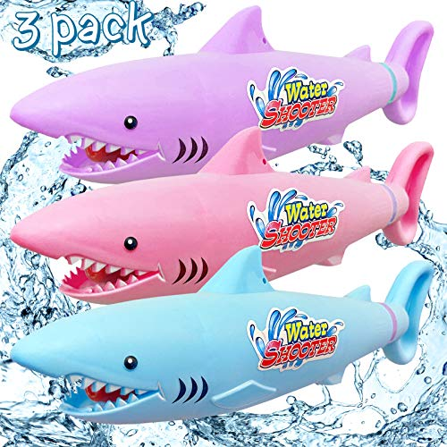 3 Pack Water Guns for Kids, Water Blaster Soaker Guns for Children and Adults, 30 ft Range Toy Squirt Guns, Perfect Summer Fun Outdoor Swimming Pool Games Toys