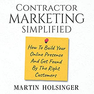 Contractor Marketing Simplified audiobook cover art