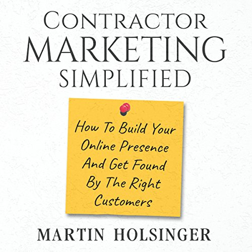 Contractor Marketing Simplified cover art