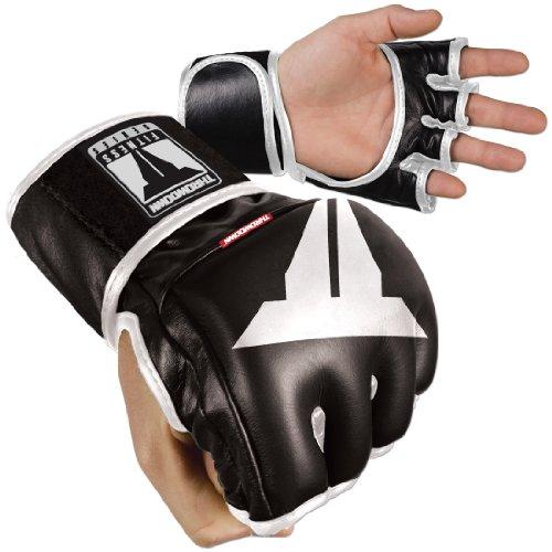 Throwdown Freedom Fighter - Guantes de entrenamiento para artes marciales, color negro, talla Medium