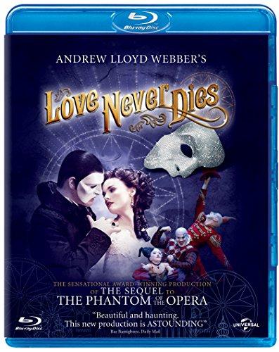 Love Never Dies [Blu-ray] UK-Import, Sprache-Englisch.