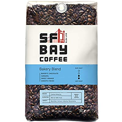 SF Bay Coffee Breakfast Blend Whole Bean 2LB (32 Ounce) (Packaging May Vary)