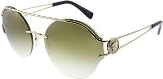 نظارات باطار نصفي للنساء من فيرساتشي - اخضر داكن - VE2184 12526U61