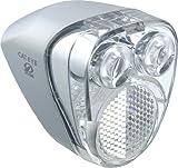 キャットアイ(CAT EYE) LEDヘッドライト HL-HUB100 ハブダイナモ用 シルバー