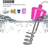 Whirlpoolheizung Planschbeckenheizung 3000W Elektrischer Warmwasserbereiter für die Badewanne Badewanne Whirlpool - Schwimmendes Tauchelement-2m