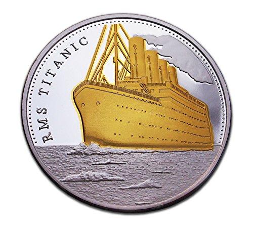 Jubiläum 100 Jahre Titanic gute Qualität Münze GEDENKMÜNZE & zum Sammeln Geschenk