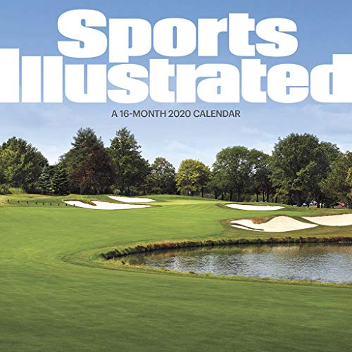 Sports Illustrated Golf Courses 2020 Wall Calendar