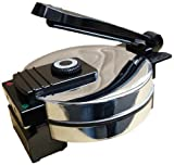 Saachi SA1650 Electric Non-Stick Roti Chapati Flat Bread Wraps/Tortilla Maker with Temperature Control