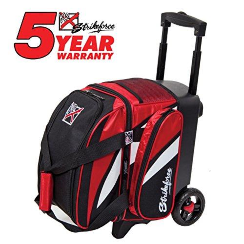 KR Cruiser Single Roller Bowling Bag Red/Black/White ()