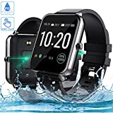 Smartwatch, Zagzog 1,54 Zoll Voller Touch Screen Bluetooth Smartwatch Wasserdicht IP68 Fitness...